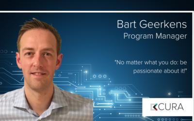 Bart Geerkens – nieuwe program manager bij CURA Solutions